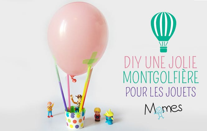 DIY montgolfiere ballon