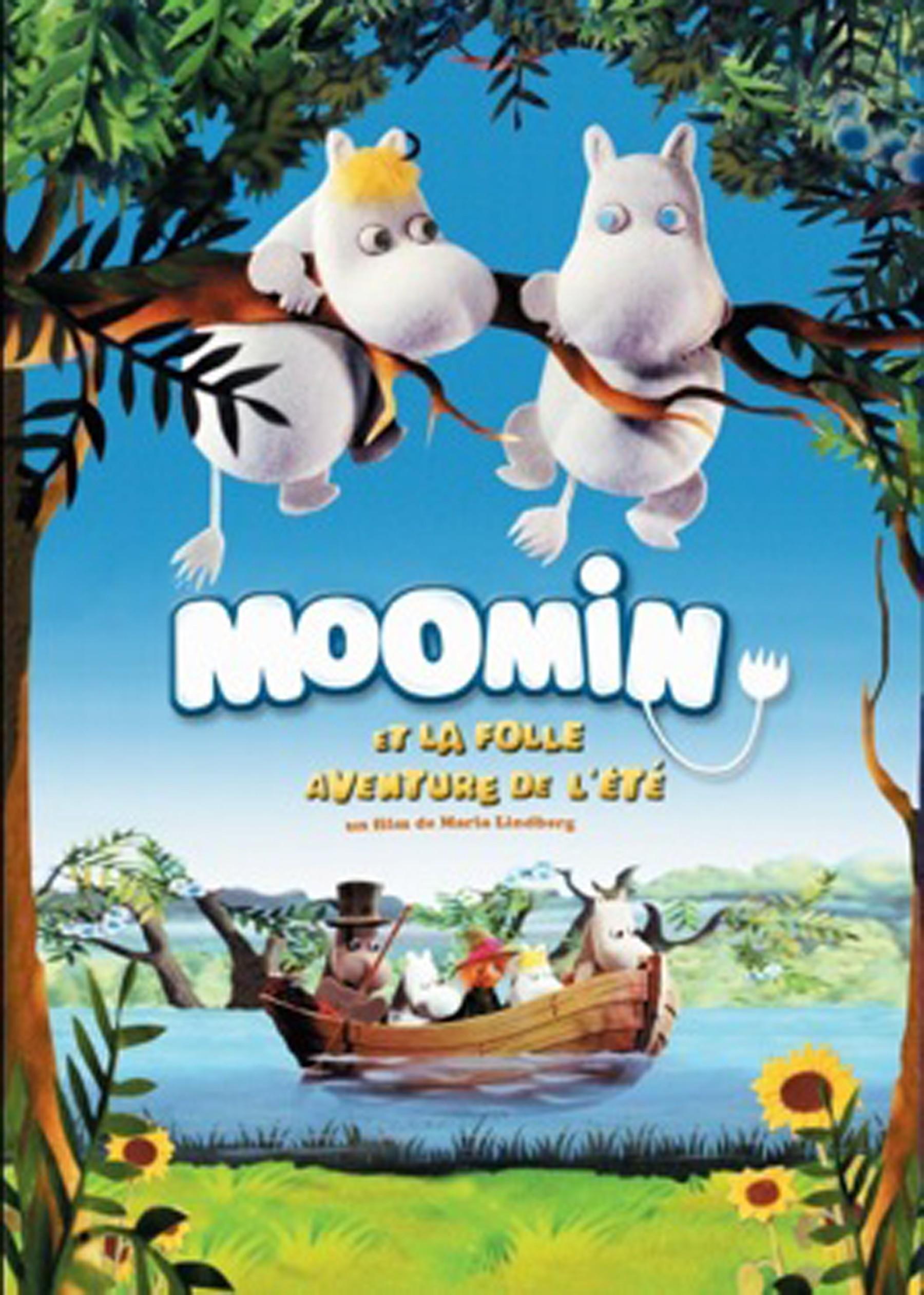Affiche Moomin et la folle aventure de l'été