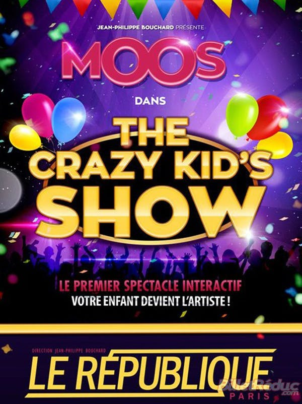 "Moos dans ""The Crazy Kids Show"""