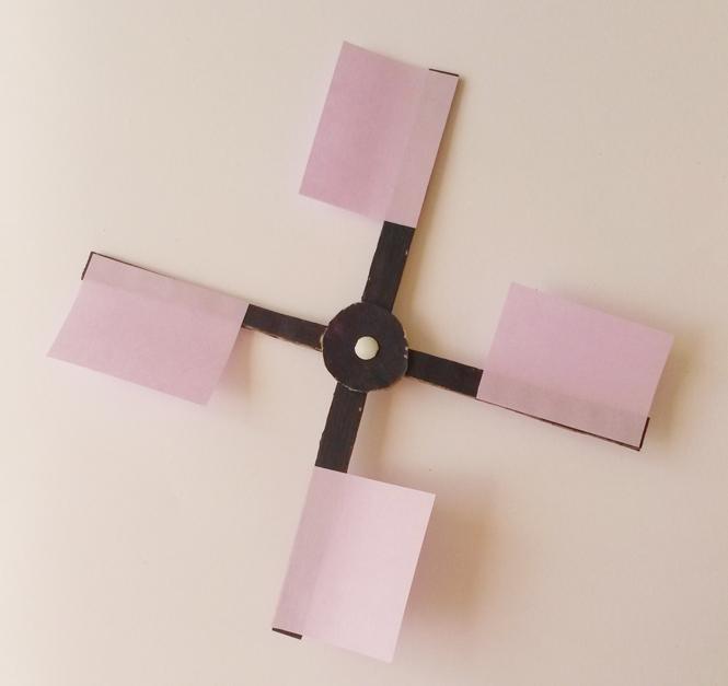 moulin en carton