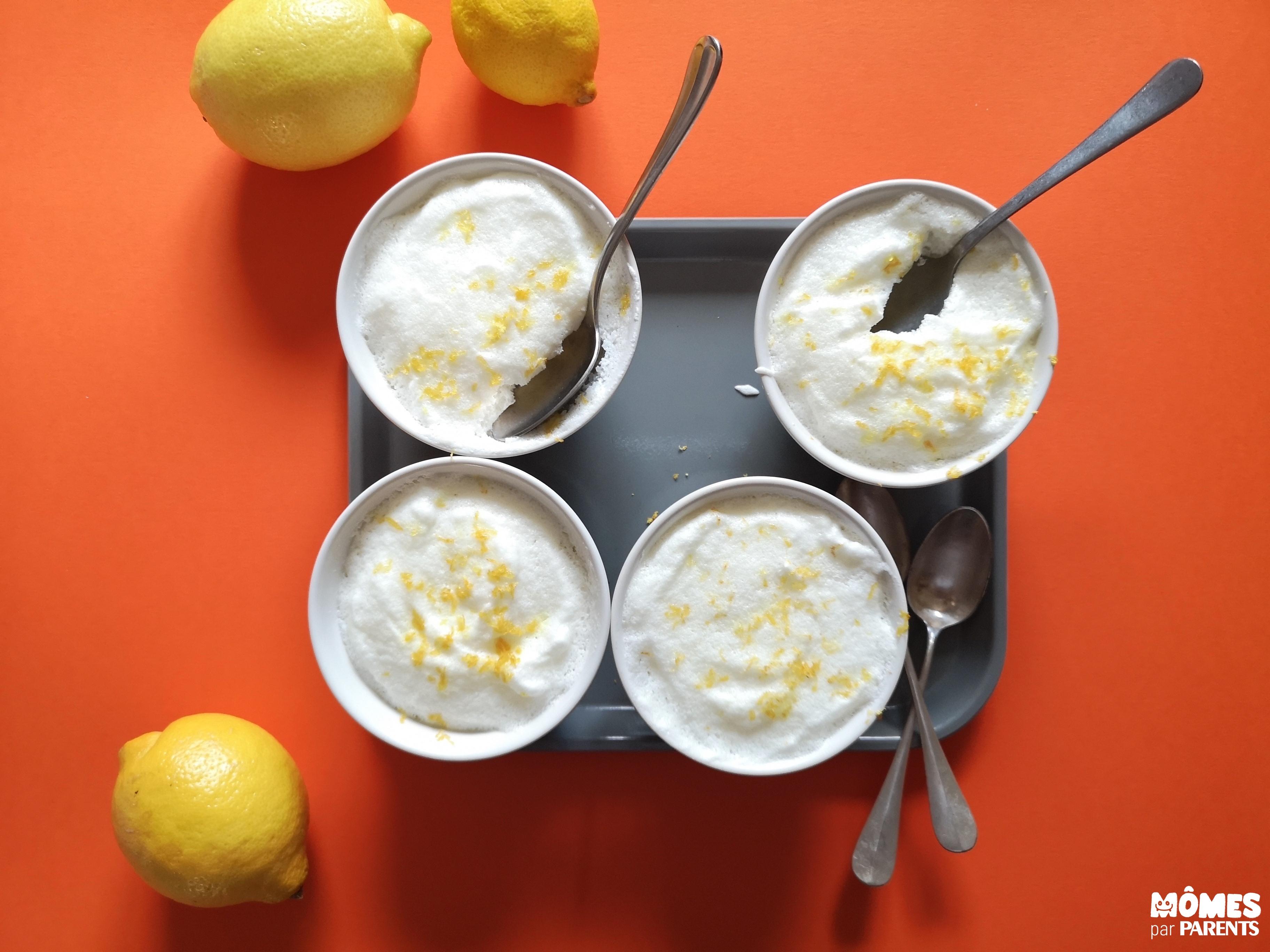 mousse citron finies