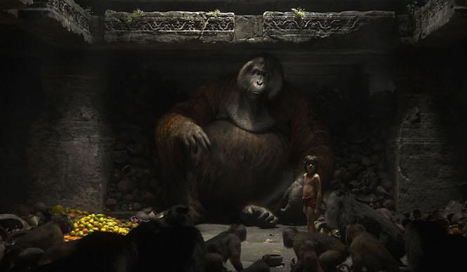 mowgli rencontre le roi Louie