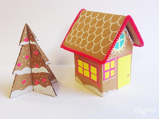 maison pain épices en carton