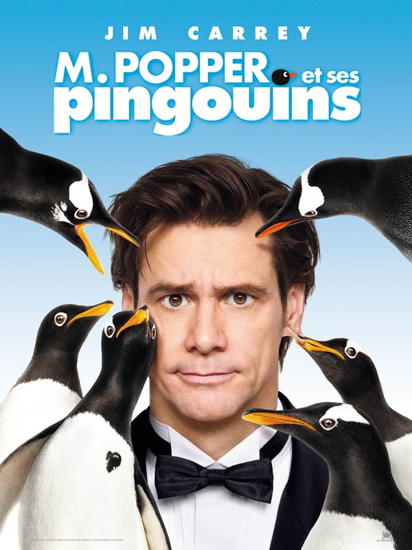 Affiche Mr Popper et ses pinguin
