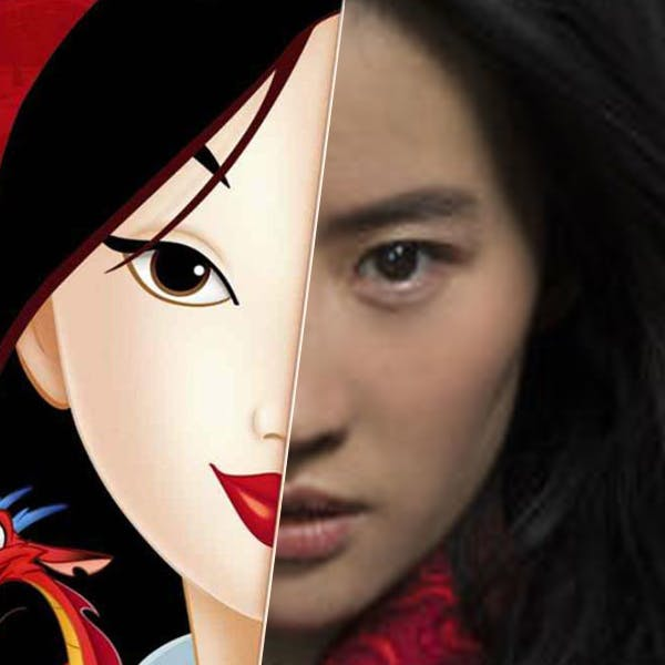 Mulan le film Disney première image de l'héroïne princesse
