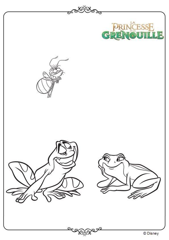 Naveen et Tiana grenouille
