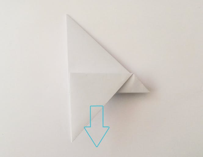 Navette spatiale en papier