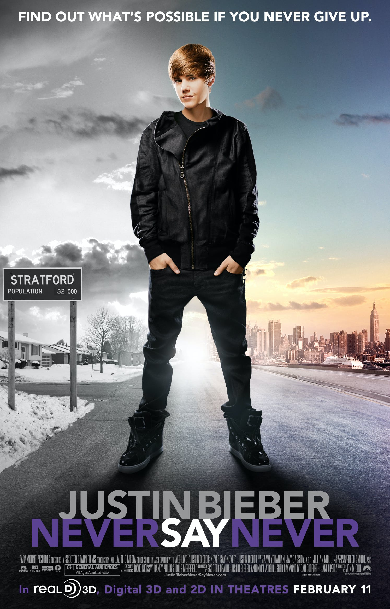 Affiche Never Say Never