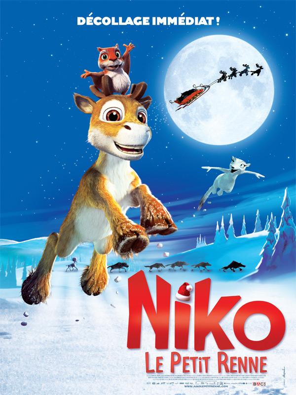 Affiche Niko le petit renne