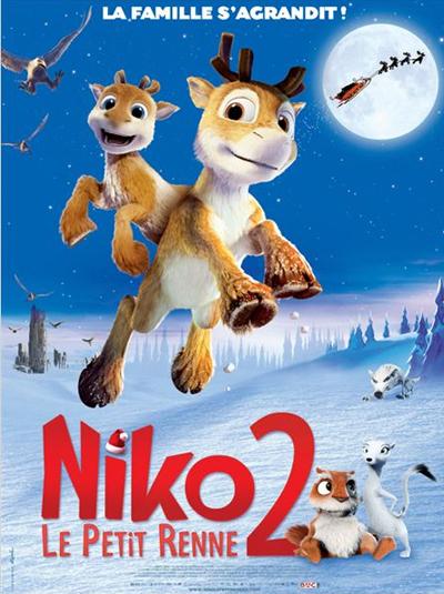 Affiche Niko petit renne