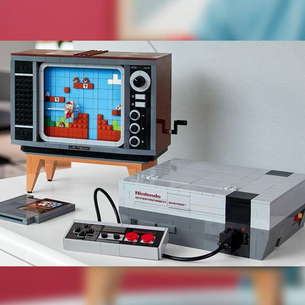 Nintendo et LEGO lancent un nouveau set pour faire revivre la Console NES