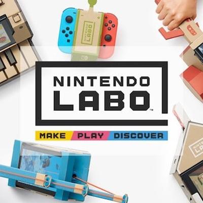 Nintendo Labo nous propose de jouer à la Switch avec du carton !