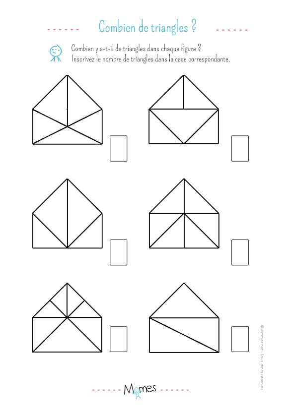 Nombre de triangles: exercice