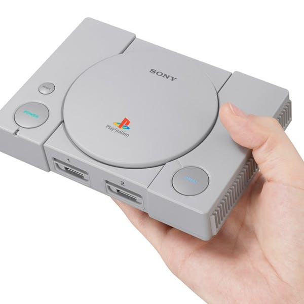 Playstation Classic Sony réédition playstation 1