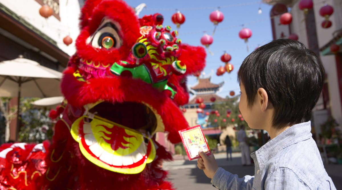nouvel an chinois enfant