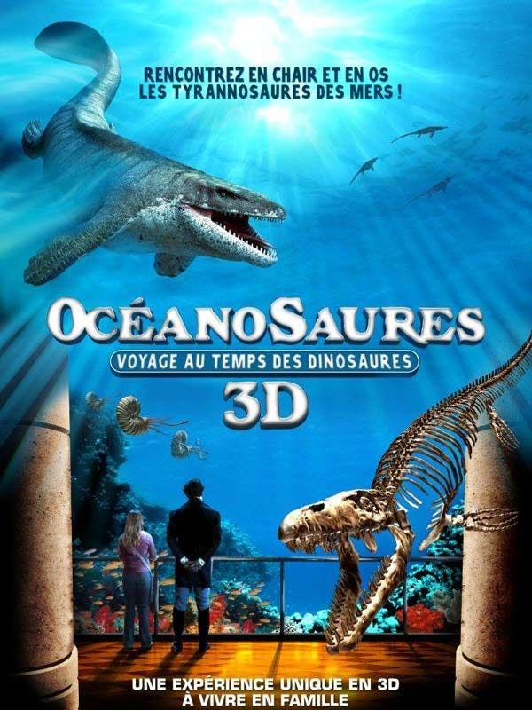 Affiche Océanosaures 3D