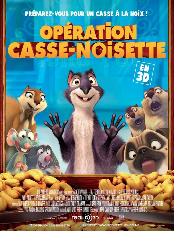 Affiche Opération Casse Noisette