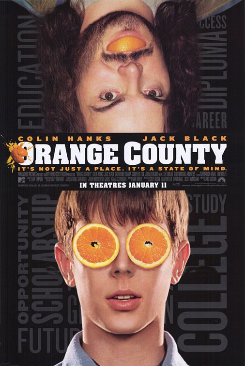 Affiche Orange County