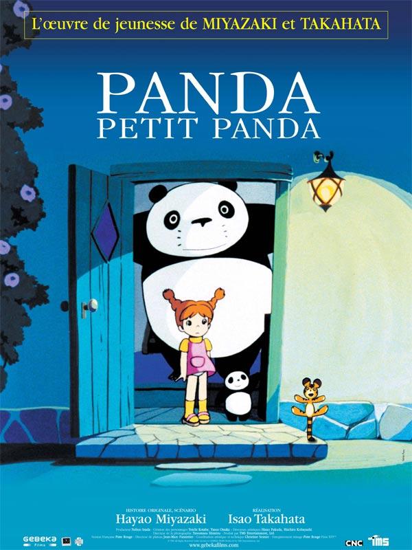 Affiche Panda petit panda
