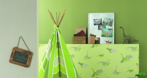 papier peint dinosaure