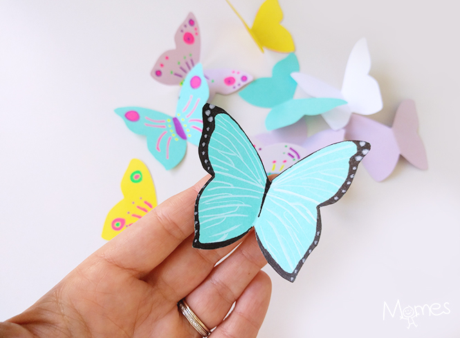 papillon imprimer. Black Bedroom Furniture Sets. Home Design Ideas