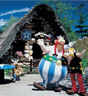Affiche Parc Asterix