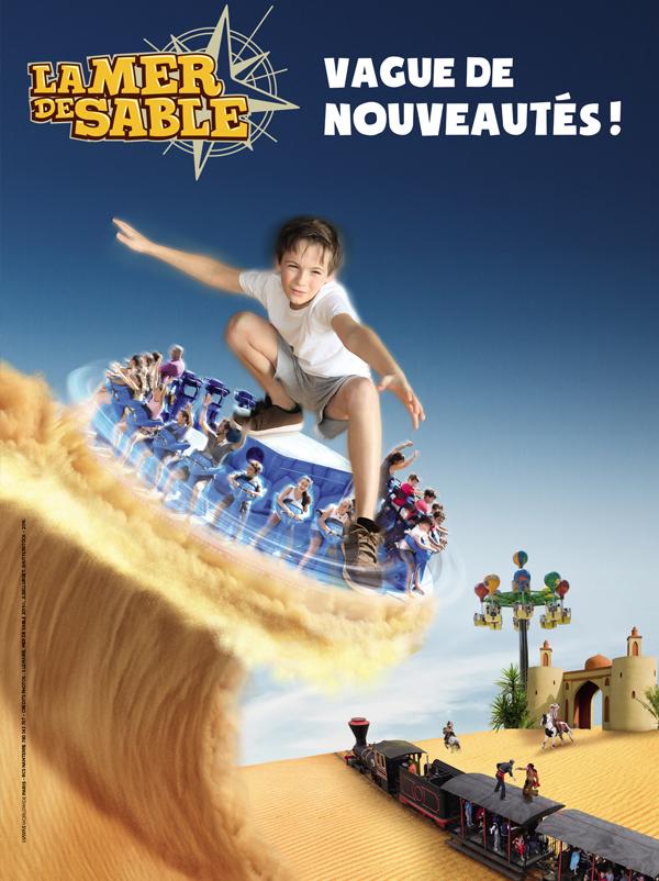 Affiche Parc La Mer de Sable