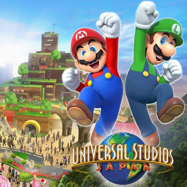 super nintendo world video parc universal japon