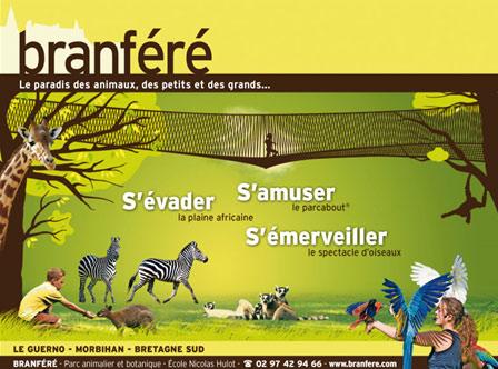 Parcs zoologique : Branfère