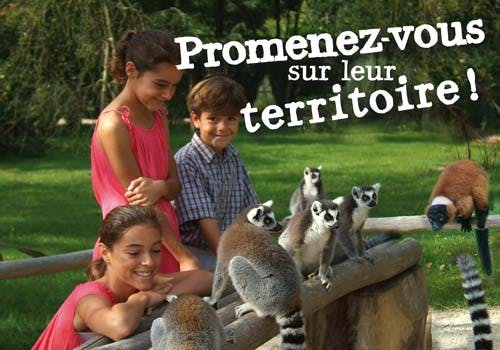 Parcs zoologique : Domaine de la Bourbansais