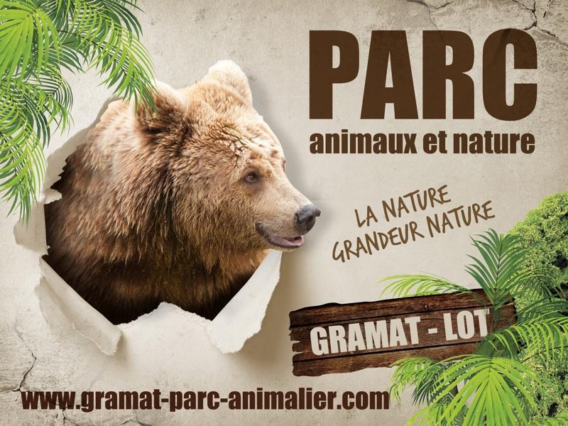 Parcs zoologique : Parc de vision de Gramat