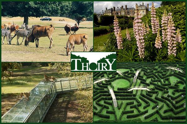 Affiche Parcs zoologique  Thoiry