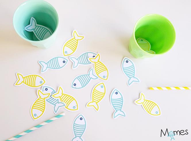 peche aux poisson à imprimer