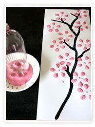 Peindre un cerisier en fleur