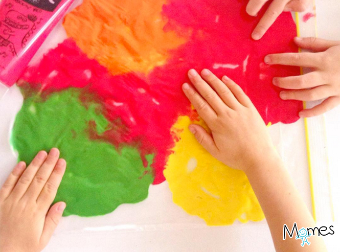 sac sensoriel peinture