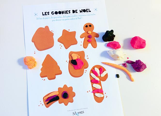 cookie en pate à modeler