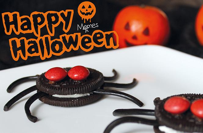 les petites b tes d 39 halloween aux biscuits oreo et aux brownies. Black Bedroom Furniture Sets. Home Design Ideas