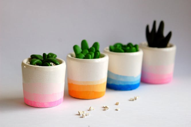 petits pots tie and dye