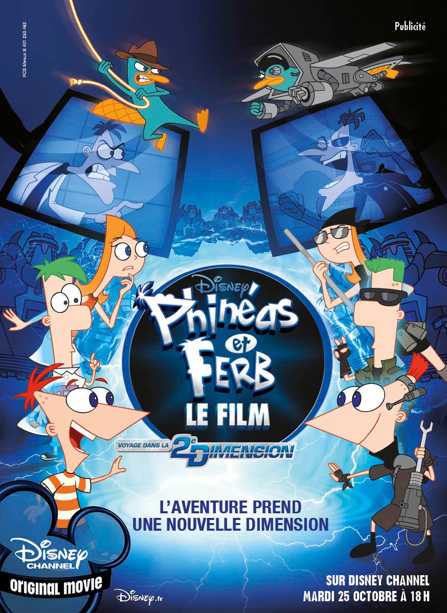 Affiche Phinéas et Ferb