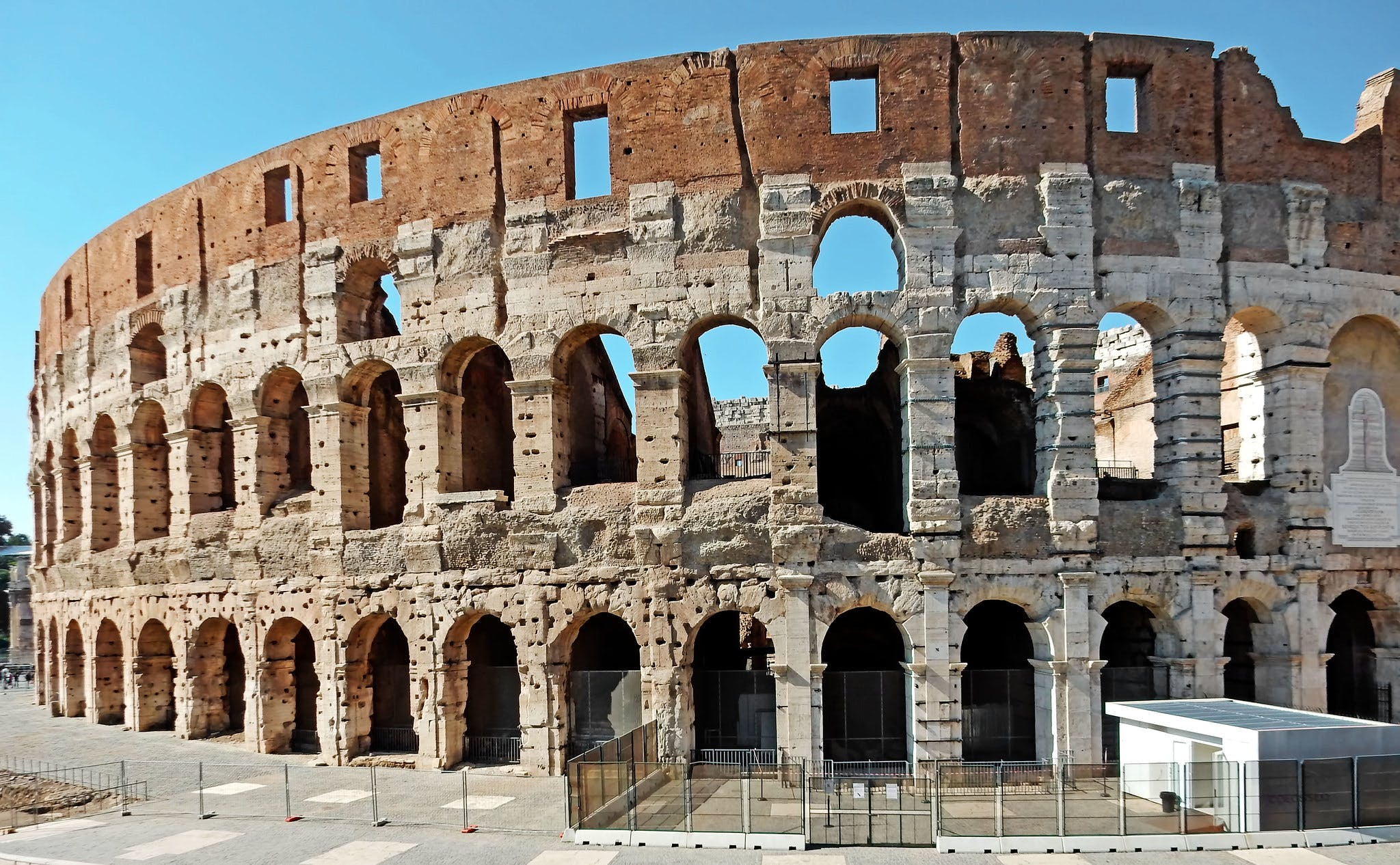 Photo du Colisée, à Rome (Flickr)
