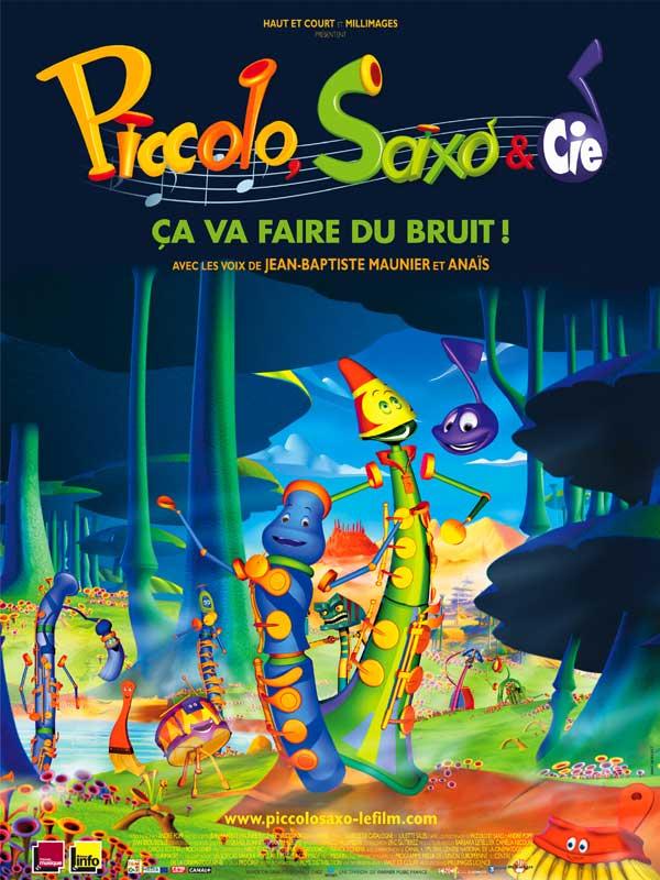 Affiche Piccolo Saxo et Cie