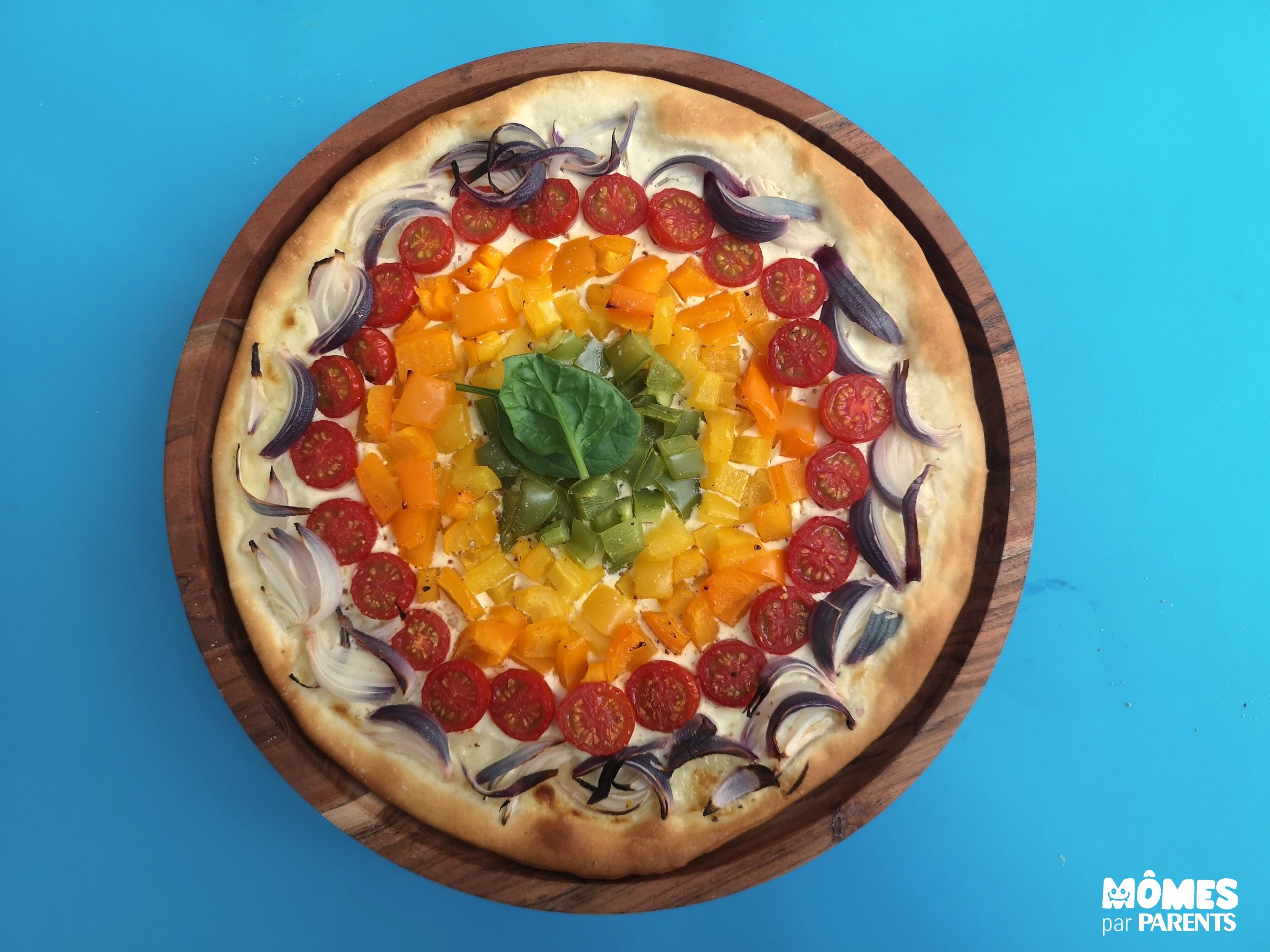 pizza rainbow FIN