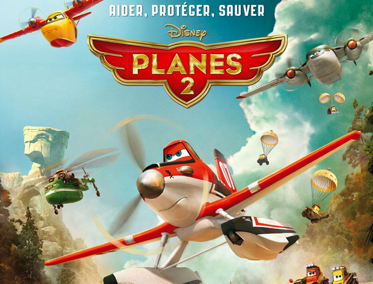 Affiche Planes 2