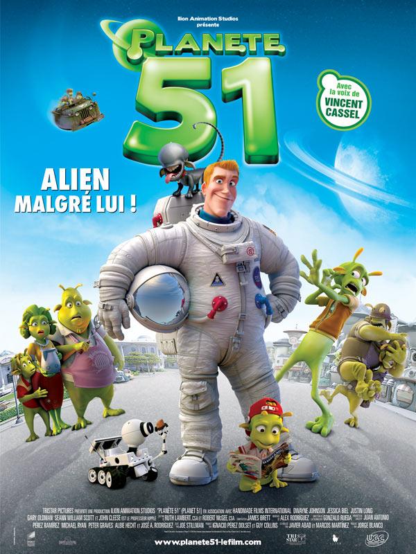 Affiche Planète 51
