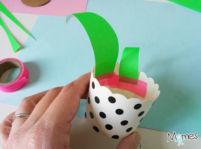 fabriquer une plante en papier