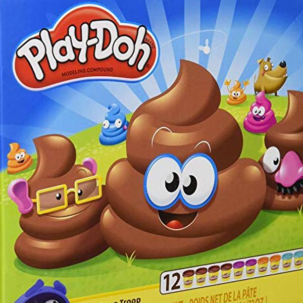 "Play-Doh lance la pâte à modeler ""Poop"" !"