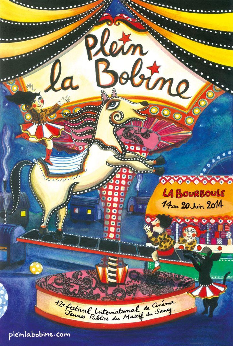 Image Plein la Bobine, Festival de Cinéma Jeunes Publics du Massif de Sancy