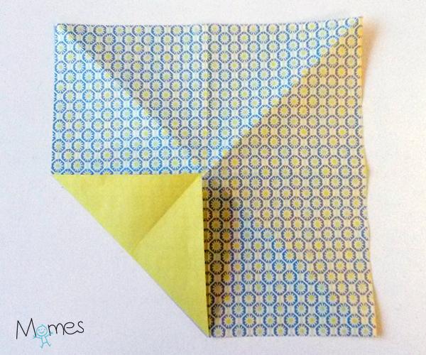 poisson origami etape 2