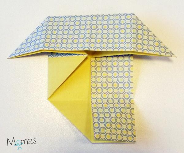 poisson origami étape 4