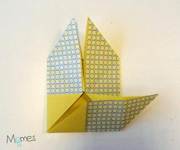 poisson origami etape 6